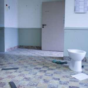WC nach gewerblicher Entrümpelung Soest